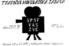 Mikulášská 1975