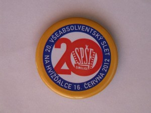 placka z 20. Sletu v r. 2012